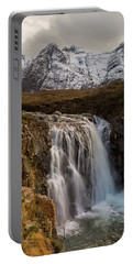 Fairy Pools Waterfall, Isle Of Skye Portable Battery Charger