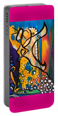 Fairy Queen - Art By Dora Hathazi Mendes Portable Battery Charger
