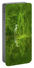 Fairy Tale Heron #g5 Portable Battery Charger
