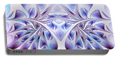 Portable Battery Charger featuring the digital art Fairy Wings by Jutta Maria Pusl