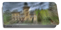 Portable Battery Charger featuring the photograph Fairytale Villa - Villa Delle Fiabe by Enrico Pelos
