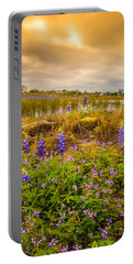 Zapata Falcon Lake 2 Portable Battery Charger by Leticia Latocki