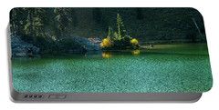 Fall Afternoon On Sheep Lake Portable Battery Charger