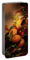 Fall Apples A Living Still Life Portable Battery Charger