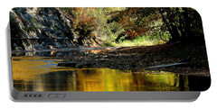 Portable Battery Charger featuring the photograph Fall At Big Creek by Bruce Patrick Smith
