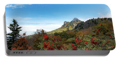 Fall At Grandfather Mountain Portable Battery Charger