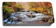 Fall At Gunstock Brook I Portable Battery Charger