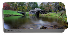 Fall At Mabry Mill Portable Battery Charger