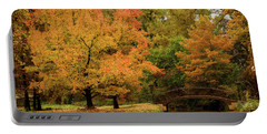 Fall At The Arboretum Portable Battery Charger