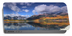 Fall At Twin Lakes Portable Battery Charger