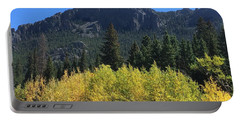 Fall At Twin Sisters Portable Battery Charger