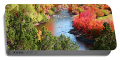 Fall Beauty Portable Battery Charger