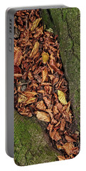 Fall Beech Tree Leaves Portable Battery Charger