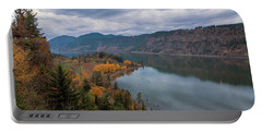 Fall Color At Ruthton Point In Hood River Oregon Portable Battery Charger