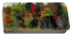 Portable Battery Charger featuring the photograph Fall Color Panorama by David Patterson