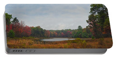 Fall Colors At Gladwin 4459 Portable Battery Charger