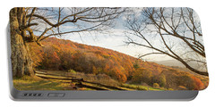Fall Colors At The Moses Cone Estate Portable Battery Charger