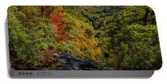 Fall Colors From The Top Of Amicolola Falls Portable Battery Charger