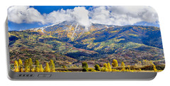 Fall Colors In Steamboat With A Lake. Portable Battery Charger