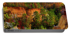 Fall Colors In The Canyon Portable Battery Charger
