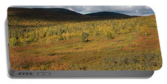 Fall Colors In Tundra Portable Battery Charger