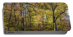 Fall Colors Of Rock Creek Park Portable Battery Charger