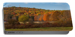 Fall Colors On Great Blue Hill Portable Battery Charger
