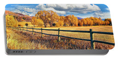 Fall Colors Sunset Colorado Portable Battery Charger