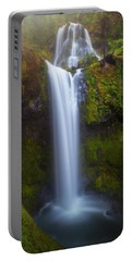 Fall Creek Falls Portable Battery Charger by Darren White