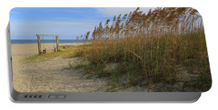 Fall Day On Tybee Island Portable Battery Charger
