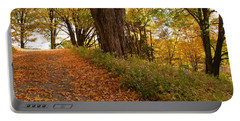 Fall Driveway Portable Battery Charger