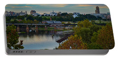 Fall Evening In Richmond Portable Battery Charger
