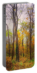 Fall Farewell Portable Battery Charger