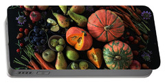 Fall Farmers' Market Portable Battery Charger
