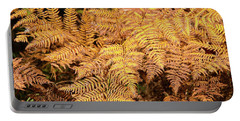 Fall Finery Portable Battery Charger by Susan Crossman Buscho
