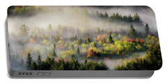 Fall Fog Portable Battery Charger