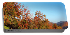 Fall Foliage And Mountains Portable Battery Charger
