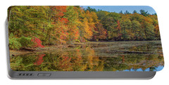 Fall Foliage Portable Battery Charger by Brian MacLean