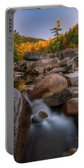 Fall Foliage In New Hampshire Swift River Portable Battery Charger