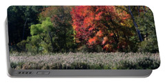 Fall Foliage Marsh Portable Battery Charger by Smilin Eyes  Treasures