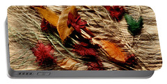 Fall Foliage Still Life Portable Battery Charger