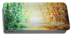Fall Glow Portable Battery Charger