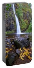 Fall Gorge Portable Battery Charger by Jonathan Davison