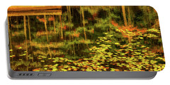 Fall Impressions Portable Battery Charger