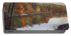 Fall In 7 Lakes Portable Battery Charger
