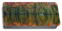 Fall In A Canoe Portable Battery Charger