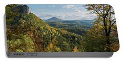 Fall In Bohemian Switzerland Portable Battery Charger