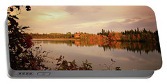 Fall In Canada Portable Battery Charger by Lynn Bolt