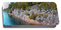 Fall In Muskoka Portable Battery Charger