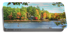 Fall In New England Portable Battery Charger